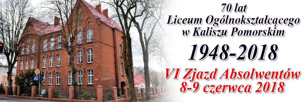 VI Zjazd Absolwentów LO w Kaliszu Pomorskim